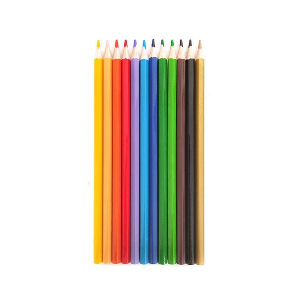 مداد رنگی 12 تایی مقوایی استدلر