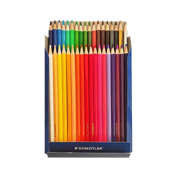 مداد رنگی 36 تایی مقوایی استدلر