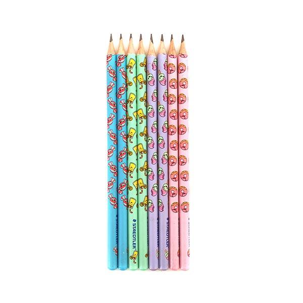 مداد مشکی استدلر پاستلی